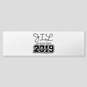 Senior Class Of 2019 Personalize Bumper Sticker