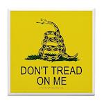 Don't Tread on Me Tile Coaster