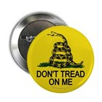 """Don't Tread on Me 2.25"""" Button (10 pack)"""