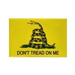 Don't Tread on Me Rectangle Magnet (100 pack)