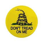 """Don't Tread on Me 3.5"""" Button (100 pack)"""