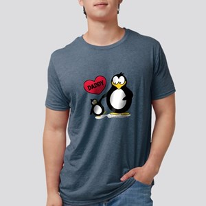 Heart Daddy Penguin T-Shirt