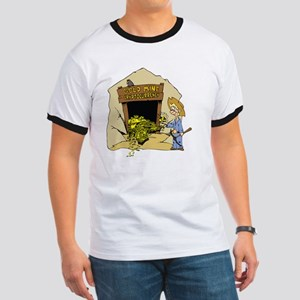 Cryptocurrency Mining Design T-Shirt