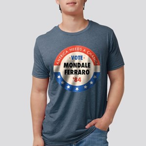 Vote Mondale '84 Ash Grey T-Shirt