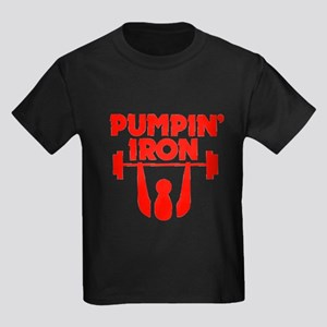 Pumpin' Iron Kids Dark T-Shirt