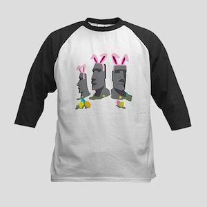 Easter Island Kids Baseball Jersey