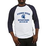 Fork High Baseball Jersey
