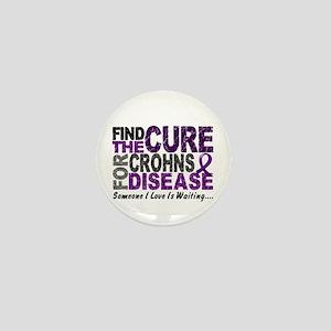 Find The Cure 1 CROHNS Mini Button