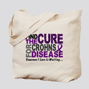 Find The Cure 1 CROHNS Tote Bag