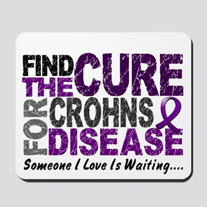 Find The Cure 1 CROHNS Mousepad