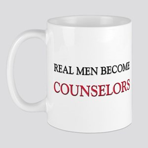 Real Men Become Counselors Mug