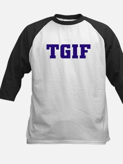 TGIF Kids Baseball Jersey