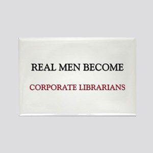 Real Men Become Corporate Librarians Rectangle Mag