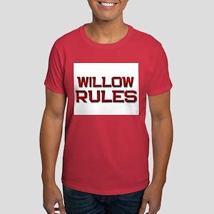 willow rules Dark T-Shirt