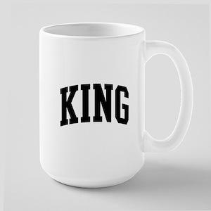KING (curve-black) Mugs