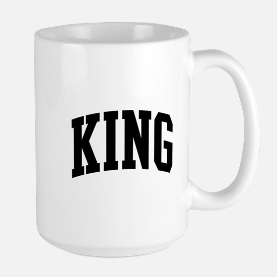 KING (curve-black) Mugs