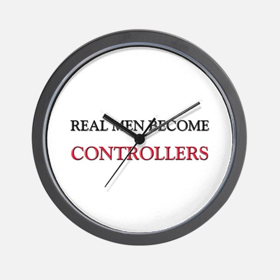Real Men Become Controllers Wall Clock
