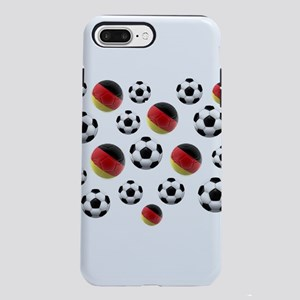 Germany Soccer Balls iPhone 7 Plus Tough Case