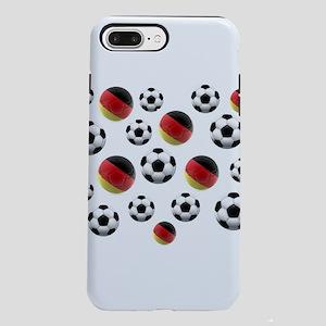 Germany Soccer Balls iPhone 7 Plus Tough Case