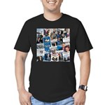 Historic Inauguration Collage Men's Fitted T-Shirt