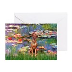 Lilies / R Ridgeback Greeting Cards (Pk of 20)