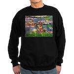 Lilies / R Ridgeback Sweatshirt (dark)