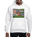 Lilies / R Ridgeback Hooded Sweatshirt