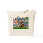 Lilies / R Ridgeback Tote Bag
