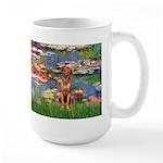 Lilies / R Ridgeback Large Mug