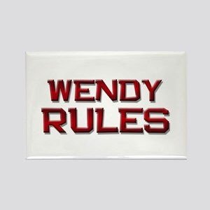 wendy rules Rectangle Magnet
