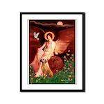 Angel / R Ridgeback Framed Panel Print
