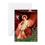 Angel / R Ridgeback Greeting Cards (Pk of 10)