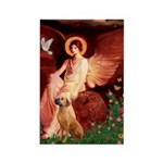 Angel / R Ridgeback Rectangle Magnet (100 pack)