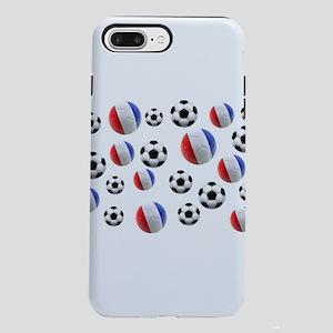 France Soccer Balls iPhone 7 Plus Tough Case