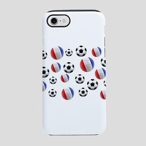 France Soccer Balls iPhone 7 Tough Case