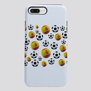 Spain Soccer Balls iPhone 7 Plus Tough Case