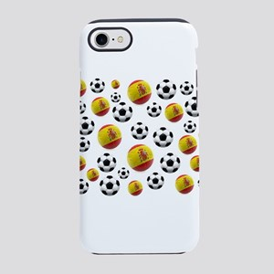 Spain Soccer Balls iPhone 7 Tough Case