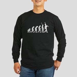 Clarinetist Long Sleeve Dark T-Shirt