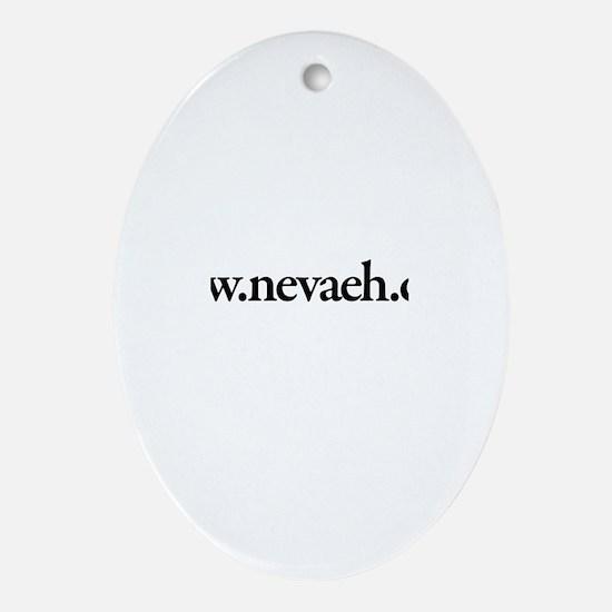 www.Nevaeh.com Oval Ornament