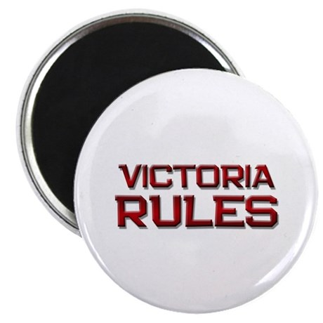 victoria rules Magnet