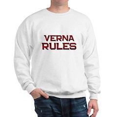verna rules Sweatshirt