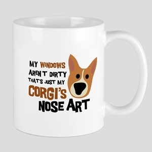 Corgi Nose Art Mug