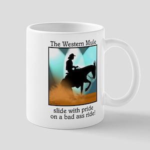 Western Reining Mule Mug