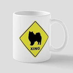 American Eskimo Crossing Mug