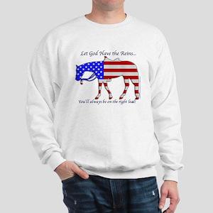 Let God have the Reins Sweatshirt