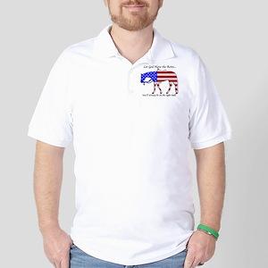 Let God have the Reins Golf Shirt