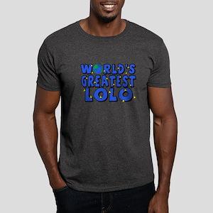 World's Greatest Lolo Dark T-Shirt