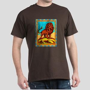 Vintage Loteria Lion Dark T-Shirt