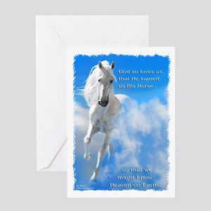 Heaven on Earth Greeting Card
