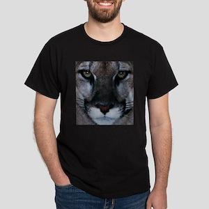 Panther Face Black T-Shirt